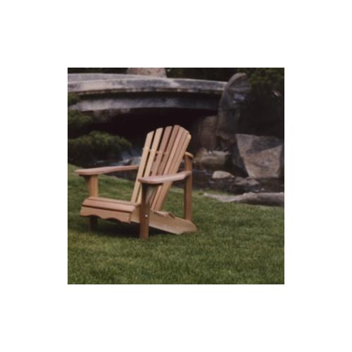 All Things Cedar Western Red Cedar Adult Solid Wood Adirondack Chair