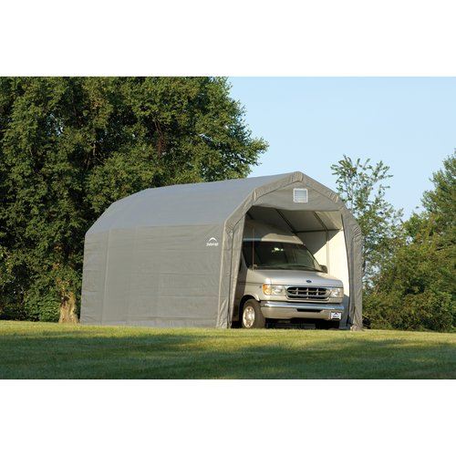 12' x 24x11' Barn Style Shelter, Gray
