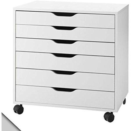 IKEA - ALEX Drawer unit on casters, white 1826.29208.104