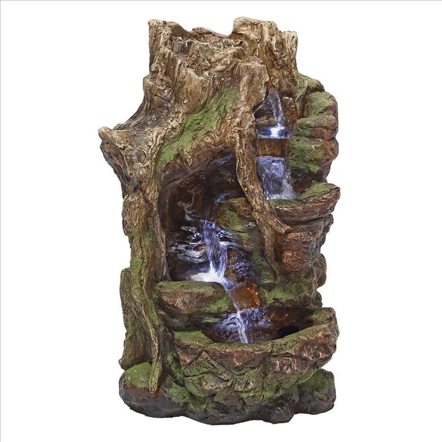 Willow Bend Illuminated Garden Fountain by Design Toscano