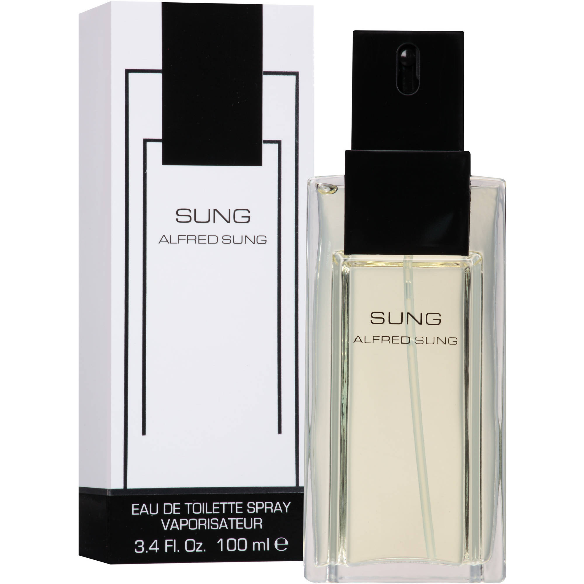 Alfred Sung Eau de Toilette Spray for Women, 3.4 fl oz
