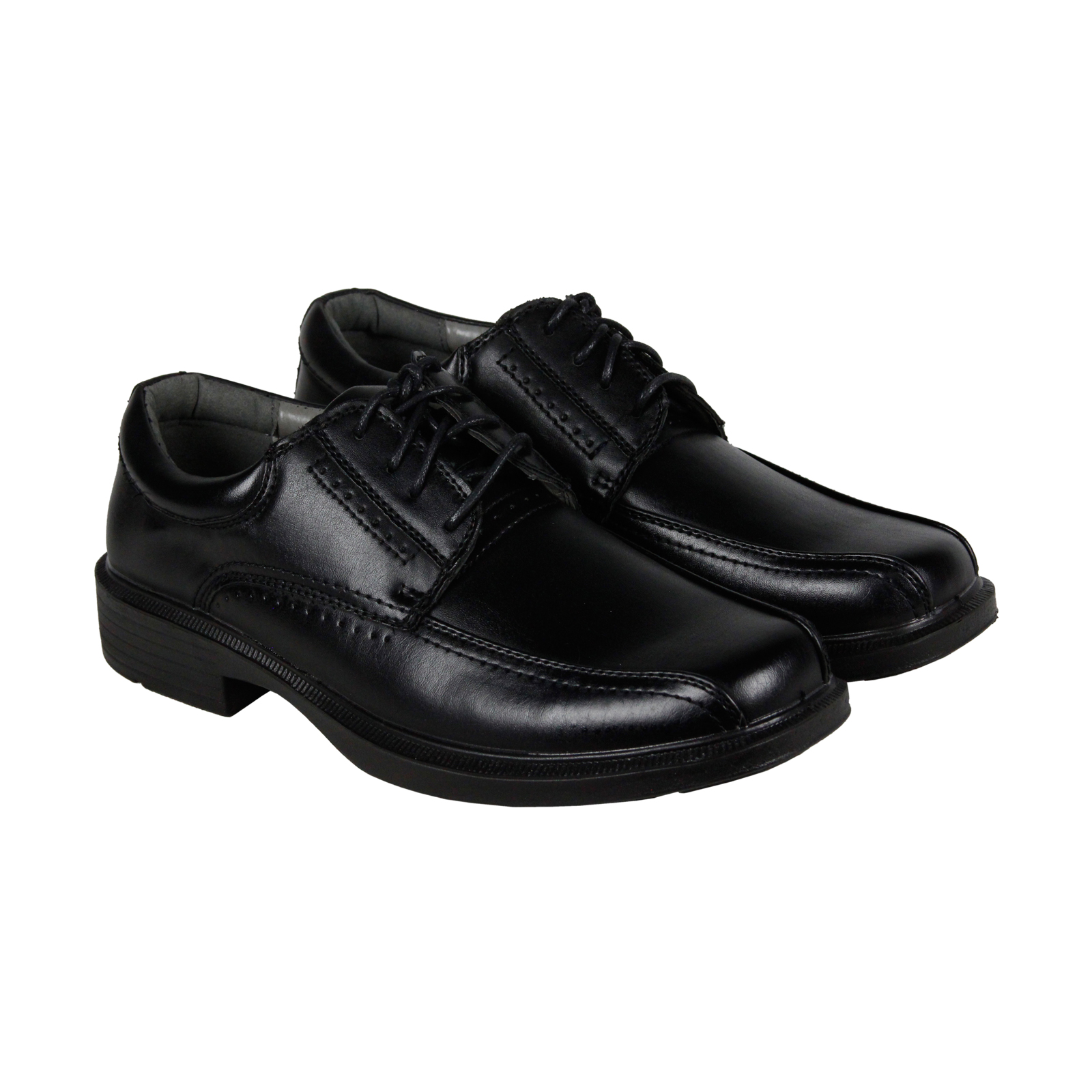Deer Stags Williamsburg Mens Black Leather Casual Dress Oxfords Shoes by Deer Stags