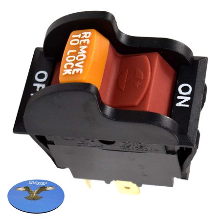 Hqrp On Off Toggle Switch For Rockwell Hitachi Reliant Performax Dayton Jet Craftsman Or90037 Or9oo37 0r90037 Tools Planer Band Saw Drill