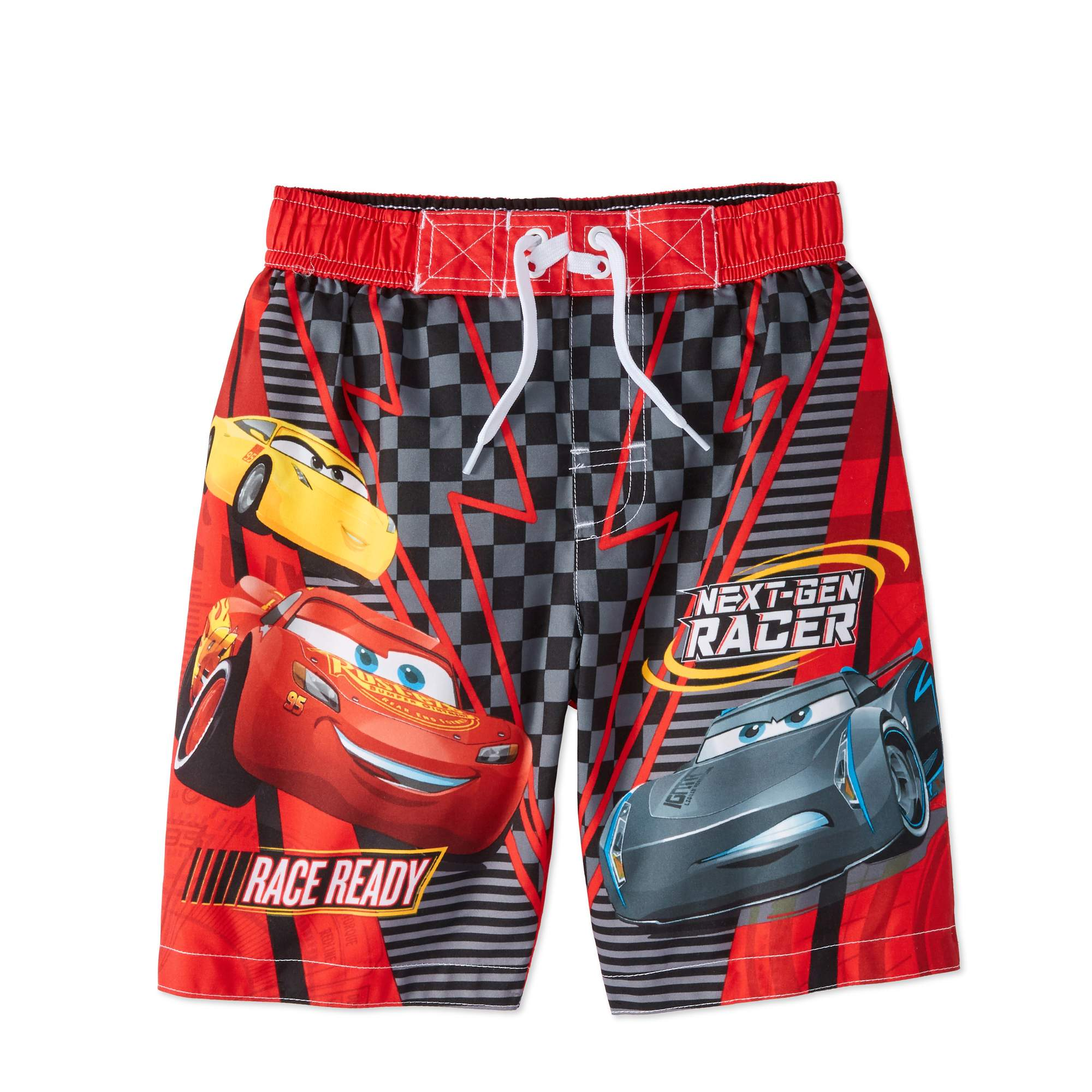 Cars Boys' Graphic Swim Trunks