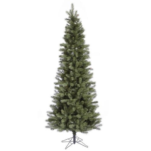 7.5' Blue Albany Slim Artificial Christmas Tree - Unlit