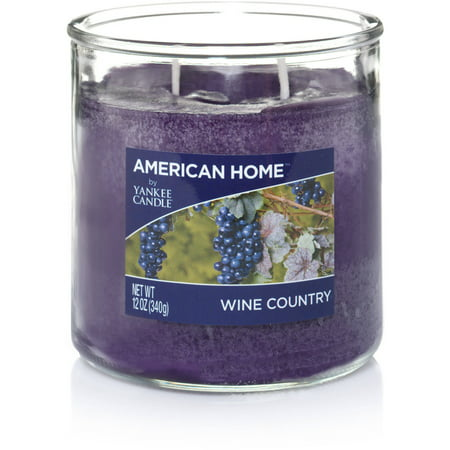American Home by Yankee Candle Wine Country, 12 oz Medium 2-Wick Tumbler