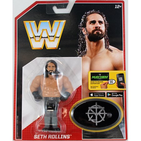 Retro Tops (Seth Rollins - WWE Retro Toy Wrestling Action)