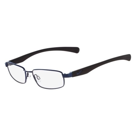 Nike NIKE 4635 Eyeglasses 424 Blue-Black Nike NIKE 4635 Eyeglasses 424 Blue-Black