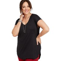 c1822f3c24 Product Image Maurices Single Pocket Dolman tee - Women's Plus Size 24/7  Collection