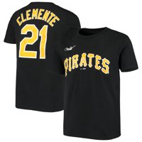 Roberto Clemente Pittsburgh Pirates Nike Youth Cooperstown Collection Player Name & Number T-Shirt - Black