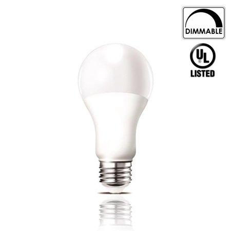 Luxrite Lr21081 14 Watt Dimmable Led A21 Light Bulb 100 Watt Equivalent Warm White 2700k 1500 Lumens Medium Screw Base E26 Ul Listed 1 Pack