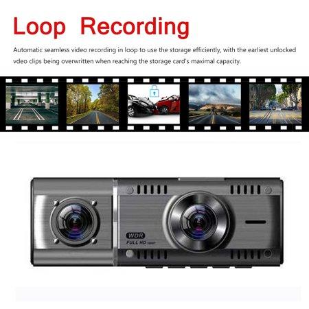 "1.5"" IPS Screen Touch Screen 1080p Car Recorder Camera , G-Sensor Dashboard Camera, Parking Monitor, HDR Night Vision, Motion Detection, Loop Recording - image 4 of 11"