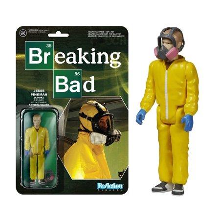Breaking Bad Jesse Pinkman Cook ReAction Figure,  Drama TV by Funko - Jesse Pinkman Halloween