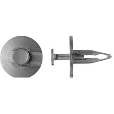 Clipsandfasteners Inc 25 Fascia/Splash Shield Retainer Compatible with GM 14093088 and Ford