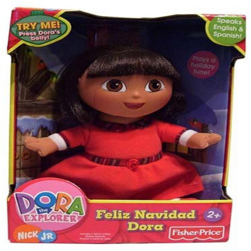 Dora the Explorer ~ Feliz Navidad Dora by