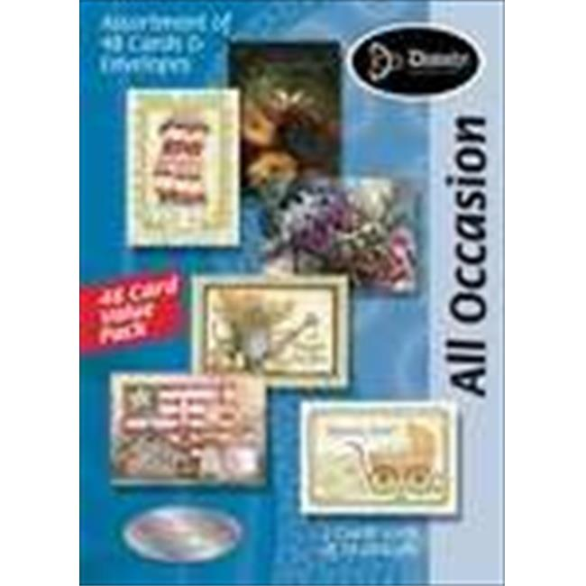 Divinity Boutique 133448 Card Boxed All Occasion Value Pack Assorted