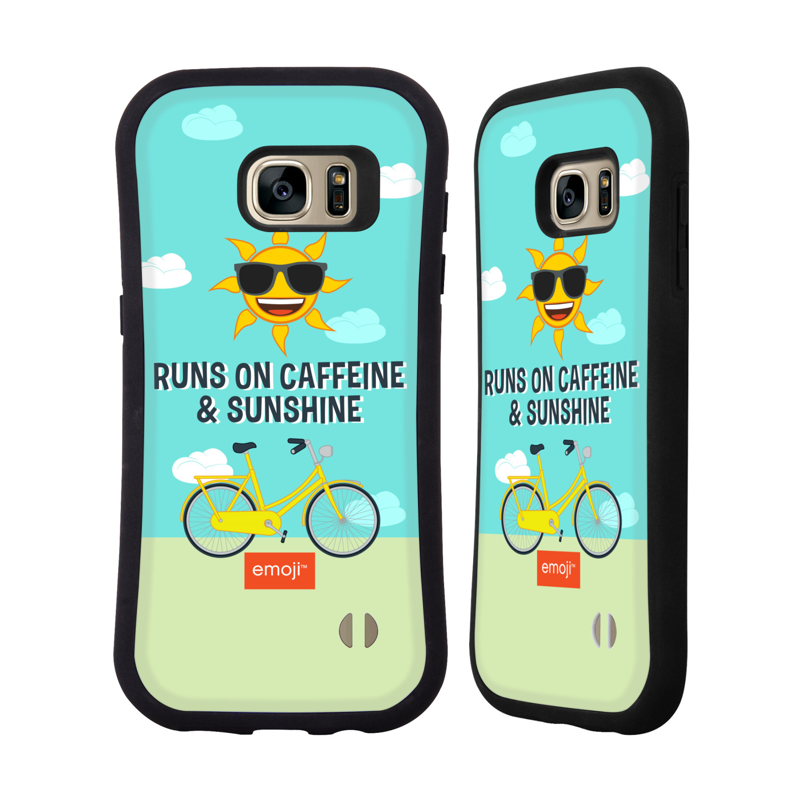 OFFICIAL EMOJI FUNNY SUMMER QUOTES HYBRID CASE FOR SAMSUNG PHONES