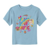 Jojo Siwa Toddler's Peace Love Music Rainbow T-Shirt