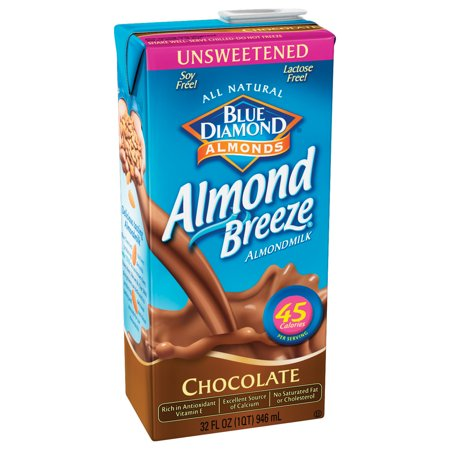 Unsweetened chocolate almond milk
