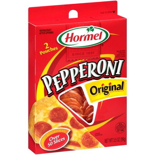 Hormel Original Pepperoni Slices, 3.5 oz