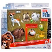 The Secret Life of Pets Mel, Gidget, Max, Duke, Sweet Pea & Norman Figure 6-Pack