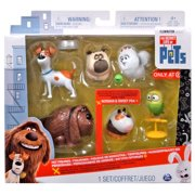 The Secret Life of Pets Mel, Gidget, Max, Duke, Sweet Pea & Norman Figure 6-Pack