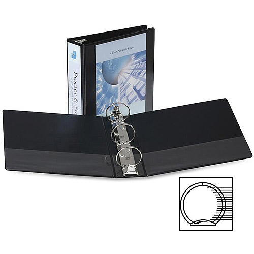 Samsill Round Ring Economy View Binders