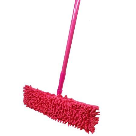 Microfiber Dust Mop Head with Handle Telescoping Pole Floor Cleaner Noodle - Telescoping Mop