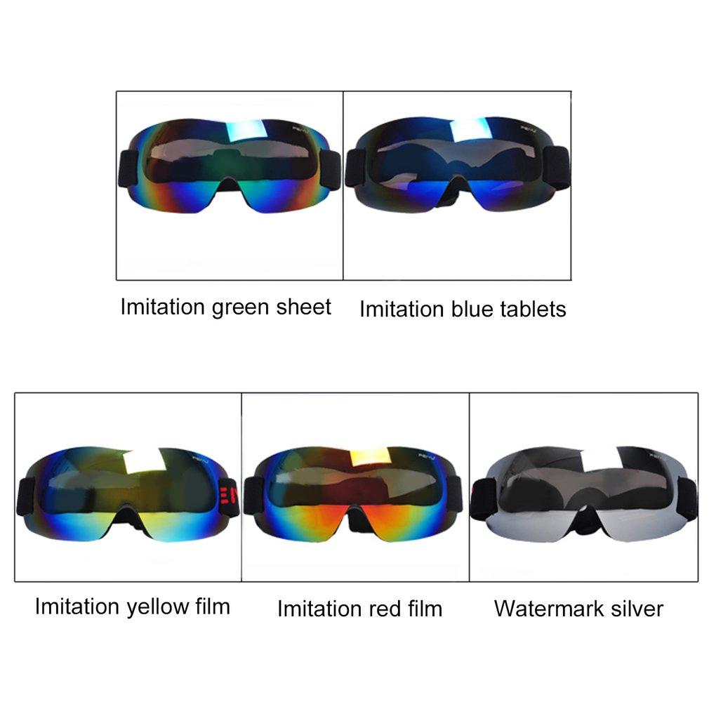 Ski Glasses Feiyu 066 Windproof Sunglasses Ski Goggles Glasses Outdoor Sports Eyewear Bike Riding Skating Skiing... by