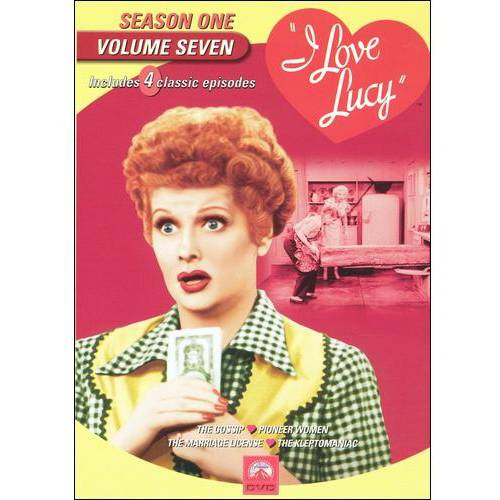 I Love Lucy: Season 1, Vol. 7