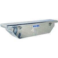 """Better Built 61.5"""" Crown Series Slimline Low Profile Crossover Universal Wedge Truck Tool Box"""