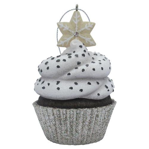 Sandicast Snowflake Top Cupcake Christmas Christmas Ornament