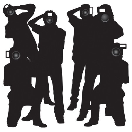 (12ct) Paparazzi Props Awards Night Party Theme