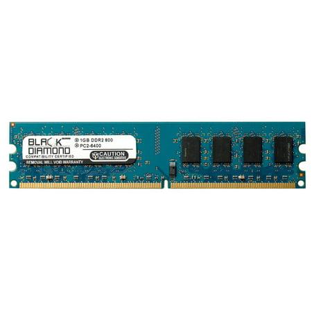 1GB RAM Memory for Compaq Media Center PC t3619.sc 240pin PC2-6400 DDR2 DIMM 800MHz Black Diamond Memory Module Upgrade