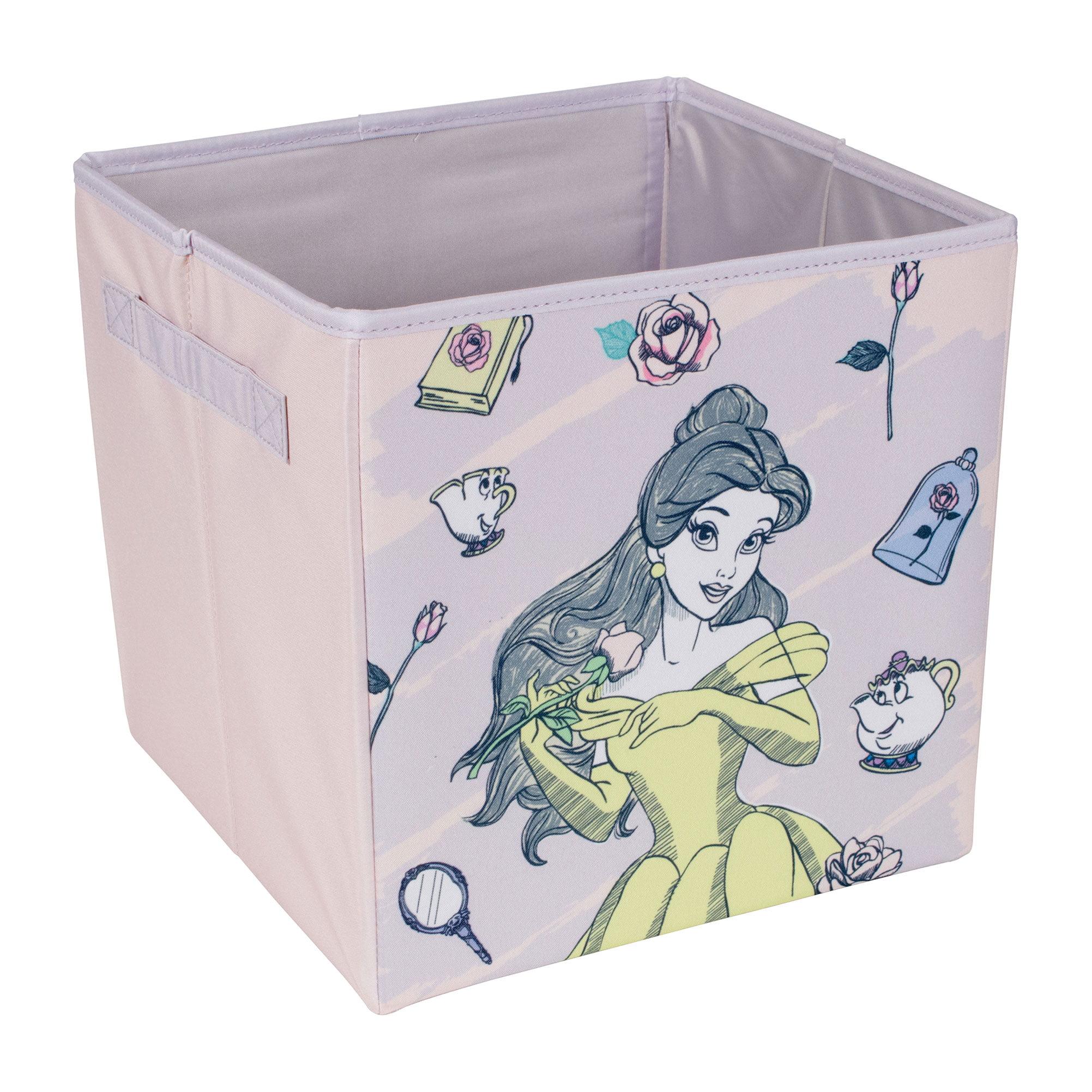 Disney Princess Belle Storage Bin for Toys | Licensed Storage | Everything Mary