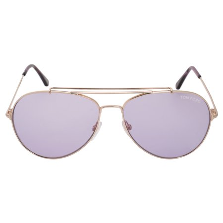 b04bc9f59e UPC 664689828524 product image for Tom Ford FT0497 S 28Y INDIANA Gold  Aviator Sunglasses ...