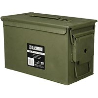 Bushnell ATK 970032 50 Cal Ammo Cans, Green Finish