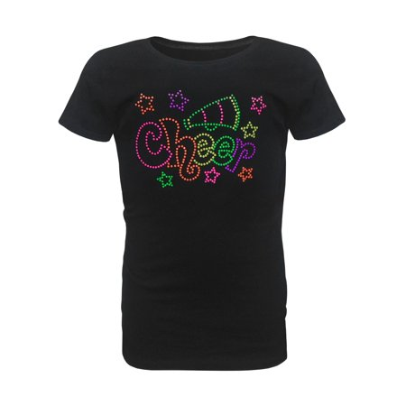 Zone Apparel Girl's Youth Cheer Star T-Shirt