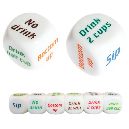 Drinking Decider Die Games Bar Party Pub Dice Fun Funny Toy Game Xmas CHfts YH ()