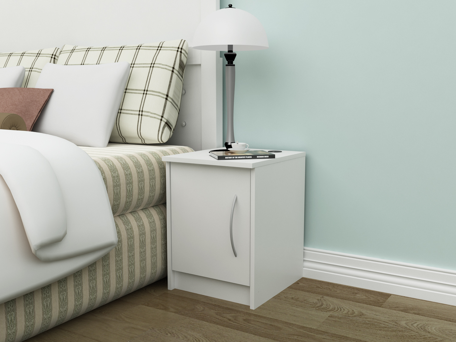 Finch 1-Door Nightstand, Multiple Finishes by Homestar
