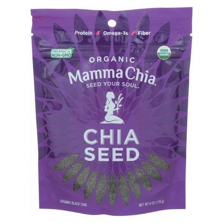 Mamma Chia Organic Chia Seed Black, 6.0 OZ