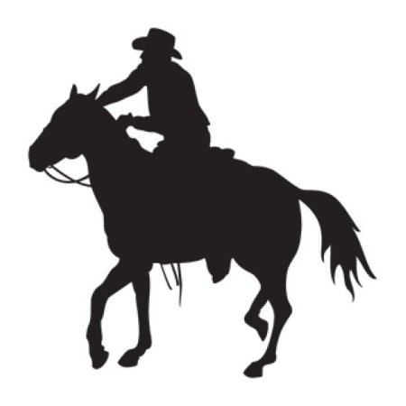 Modern Gold Machine - Style and Apply Horseman Wall Decal