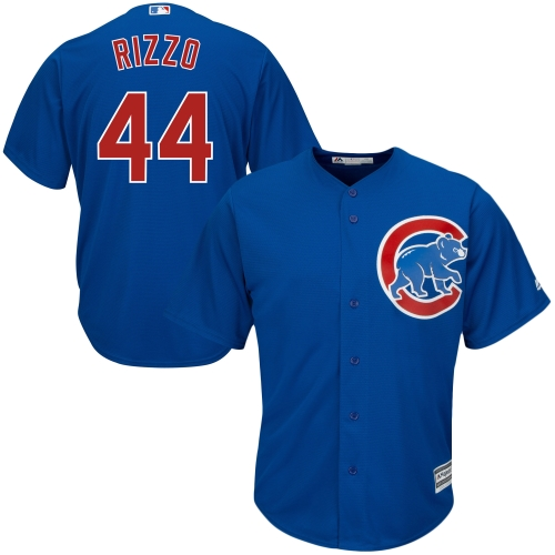 Anthony Rizzo Chicago Cubs Majestic Cool Base Player Jersey - Royal