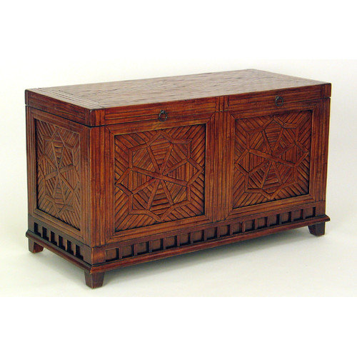 Wayborn Issur Bamboo Carved Trunk