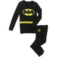 Superhero Cotton Tight Fit 2-Piece Pajama Set (Little Boys & Big Boys)
