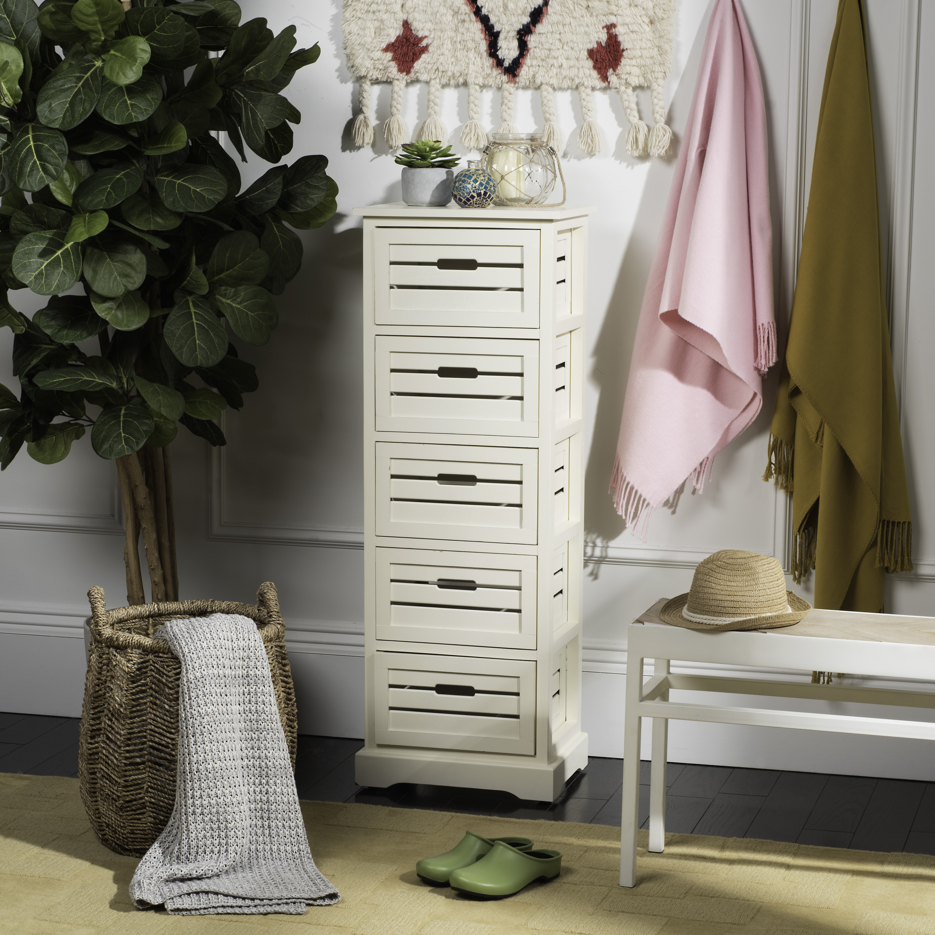 Safavieh Sarina 5-Drawer Cabinet