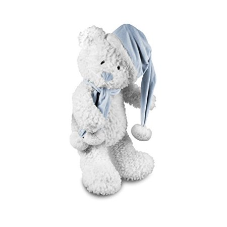 - Beverly Hills Teddy Bear Company Winter Baby Bear Blue