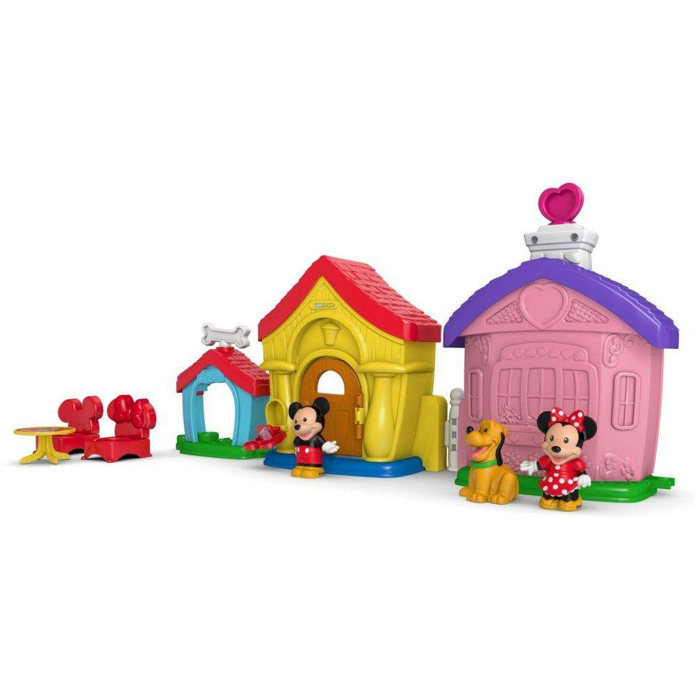 Magic Of Disney Mickey And Minnie's House Playset By Little People