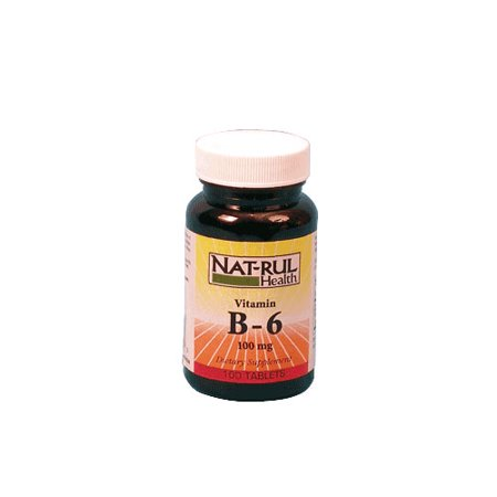 Natrul Health Vitamine B-6 100 mg - 100 Ea