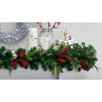 Belham Living 9ft Mountain Trail Garland